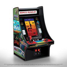 My Arcade Namco Museum Mini Player Retro Arcade : Target Pac Man, Mini Arcade Machine, Man Cave Arcade, Battle City, Namco Museum, Arcade Stick, Disney Gift Card, Retro Fan, Retro Arcade