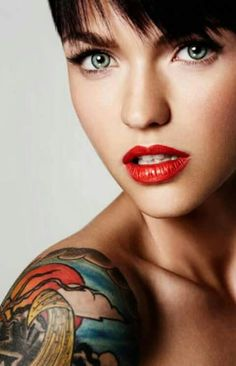 The stunning Ruby Rose