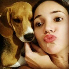 Amor que não se mede!!! #maedecachorro #loucosporeles #beaglemaniacos #beaglelovers #beagleparents #beagle