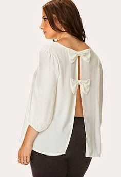 Daydreamer Split Back Blouse Big Fashion, Plus Size Fashion, Fashion Outfits, Plus Size Dresses, Plus Size Outfits, Moderne Outfits, Plus Size Chic, Plus Size Kleidung, Curvy Outfits