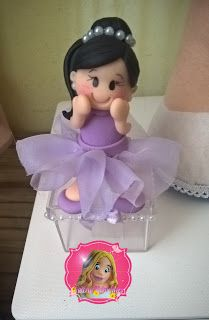 Valéria Vidal Artes: Caixinha personalizada princesinha