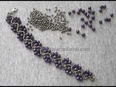 Zik Zak Modeli Bileklik Yapılışı In this article I share Bead Bracelet Making. Bracelet made of silver sand beads and light purple crystal beads Bead Jewellery, Seed Bead Jewelry, Beaded Jewelry Patterns, Bracelet Patterns, Bracelet Making, Jewelry Making, Jewelry Crafts, Handmade Jewelry, Bead Jewelry