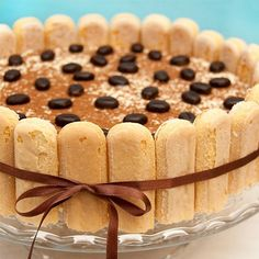 Classic No Bake Tiramisu