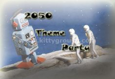 2050 theme party ideas, games and Activities