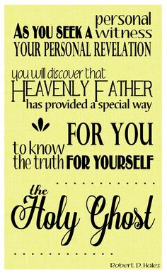 Robert D. Hales quote from LDS General Conference, October 5, 2014