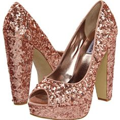These are entirely unnecessary and really kinda hooker, but I so want. Steve Madden: $69.99 #Pink