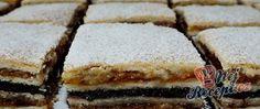 Recept Makovo oříškové žerbó řezy Vanilla Cake, Sweet Recipes, Tiramisu, Rum, Yummy Food, Sweets, Cooking, Ethnic Recipes, Anna
