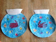 Petits poissons en bocal