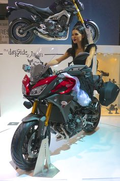 Yamaha MT-09 Tracer This new, adventure-styled sport-touring bike will be coming to America under the name FJ-09. Its basic 847-cc, three-cylinder is already in the U.S. powering the FZ-09. This version is taller, with an adjustable-height fairing, plusher seat, and a rear frame ready to accept accessory saddlebags. The FJ's 4.8-gallon tank swallows a gallon-plus more than on the FZ, making it more suitable for long hauls. Yamaha says the U.S. price will be $10,490.