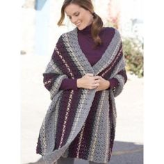 Free Easy Women's Wrap Crochet Pattern
