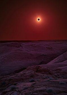 Solar eclipse in Arizona