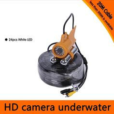 73.80$  Buy here - http://alixr6.worldwells.pw/go.php?t=32542067584 - 20Meters Depth Underwater Camera with Dual Lead Rodes for Fish Finder & Diving  Camera Application 73.80$