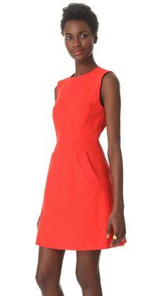 Bright spring dress | 10 Crosby Derek Lam