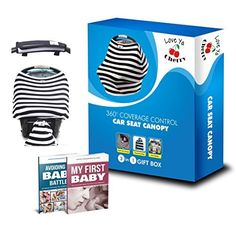 Stretchy Baby Car Seat Canopy Cover 3in1 Set  Unisex Design for Boys and Girls  Excellent Nursing Cover Durable Lightweight Fabric  for Moms and Families  Lifetime Guarantee * You can find out more details at the link of the image.-It is an affiliate link to Amazon. #BabyCar Seat