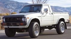 The Toyota Hilux Pickup is known for its rugged chassis and bulletproof R-series engines.  There is no greater testament to the Hilux than its frequent use by militant groups all over the third world as an impromptu tank/troop-carrier/apc.  Find this 1980 Toyota 4X4 Truck for sale in Reno, NV currently bidding for $4,000 reserve-not-met with 4 days to go.  Seller submission from Andrew M.