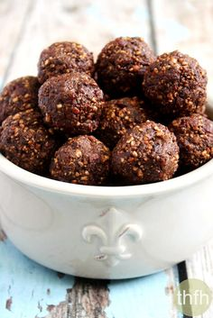 Pecan Cranberry Truffles and other amazingly healthy treats