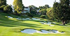 Pasatiempo in Santa Cruz is a legendary old track designed by Alister MacKenzie  http://www.golfslope.com