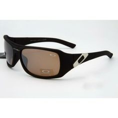 2013 new Oakley Unfaithful Sunglasses matte black frames brown lens | See more about black frames, matte black and oakley.