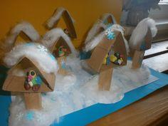 Bildergebnis für tvořeníčko s dětmi Fun Crafts, Diy And Crafts, Crafts For Kids, Winter Activities, Activities For Kids, Feeding Birds In Winter, Art Plastic, Winter Diy, Winter Trees