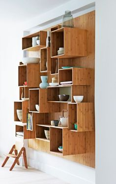 storage by ursula #家具 #棚 #木