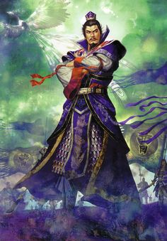 Cao Cao from the Romance of the Three Kingdoms. Leader of the Wei Kingdom…