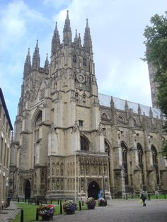 Canterbury Cathedral, England. This is my postcard shot.