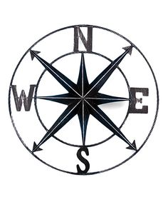 Look at this Nautical Compass Wall Plaque on #zulily today!