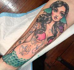 Mermaids and tropical tattoos blog