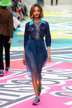 Burberry Prorsum Spring 2015 RTW London