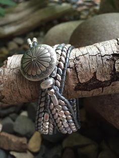 Debra Levens Jewelry Design-photo only Beaded Cuff Bracelet, Wrap Bracelets, Leather Bracelets, Leather Jewelry, Boho Jewelry, Jewlery, Jewelry Bracelets, Vintage Jewelry, Handmade Jewelry