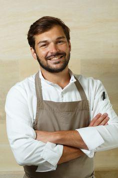 Thibault Sombardier, chef cuisinier du restaurant Antoine, Paris - Portrait Cyril Zekser