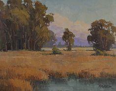 Paul Kratter - From the Marsh, 8 x 16, Oil