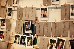 Polaroid como lembrancinha