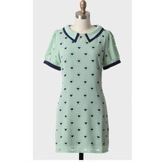 peter pan collar dress~