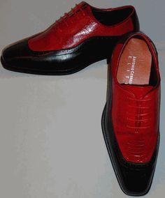 Mens Black & Red Distinguished Retro Look Dress Shoes Antonio Cerrelli 6469 Men's Shoes, Dress Shoes, Men Dress, Retro Look, Oxford Shoes, Footwear, Lace Up, Mens Fashion, Best Deals