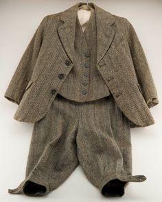 Boys 3 piece suit 1920's