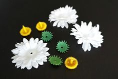 DIY | Daisies Hair Tie | by The Makeup Dummy