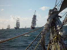Image detail for -Tall Ships Race Waterford Tall Ships Festival Ireland Outlander, Golden Age Of Piracy, Pirate Queen, Black Sails, Pirate Life, Sail Away, Tall Ships, Pirates Of The Caribbean, Yachts