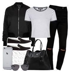 """Style #9180"" by vany-alvarado ❤ liked on Polyvore featuring ASOS, Topshop, Prada Sport, Prada and Christian Dior"
