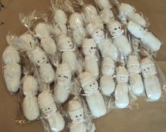sock babies for NICU. instructions on site