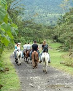 Horseback Riding to the La Fortuna Waterfall - Arenal Mundo Aventura (from post: Which Costa Rica Zipline Is The Best? Comparing 6 Popular Canopy Tours in Arenal and Monteverde)