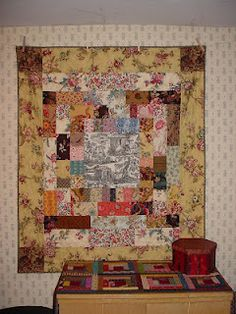 Cyndi from Busy Thimble always has quilts with tempting fabrics on her blog.