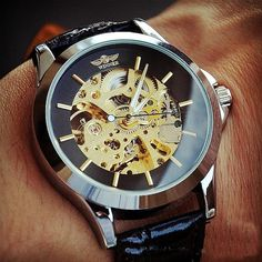 Stan Vintage Watches | Steampunk Watch Men (WAT104-BLACK) | Online Store Powered by Storenvy