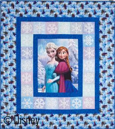 Disney Frozen Quilt Kit Sisterly Love New Condition Original Package By Fons & Porter Quilt Supply Includes Fabric n Snowflake Pattern Piece Quilting Projects, Quilting Designs, Sewing Projects, Longarm Quilting, Quilting Ideas, Sewing Tips, Quilt Baby, Nancy Zieman, Quilt Kits