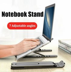 Adjustable Foldable Laptop Stand Non-slip | TheWorkAlley – theworkalley