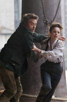 Rachel McAdams as Irene Adler from Sherlock Holmes