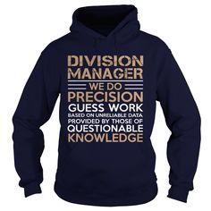 DIVISION MANAGER WE DO PRECISION T-Shirts, Hoodies. VIEW DETAIL ==► Funny Tee Shirts