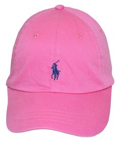 41ed8e9154973 Polo Ralph Lauren Mens Twill Signature Ball Cap Maui Pink One Size  fashion   clothing
