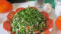 Салат из баклажанов с сыром Очень простой в приготовлении салат из баклажанов с…