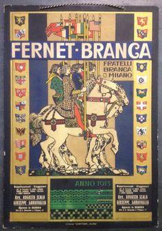 Fernet Branca, 1913